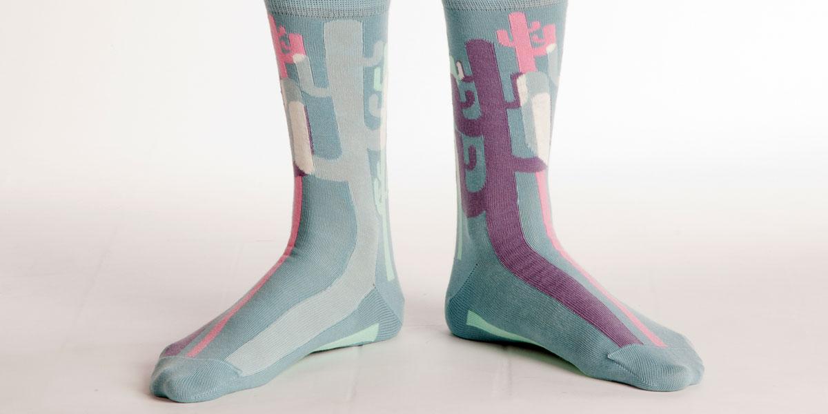 Soxy Beast - The Cacti Style Socks