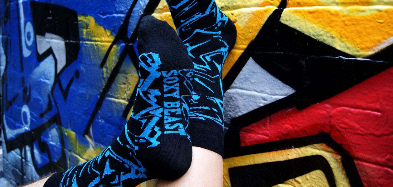 Soxy Beast - The BZERK Style Socks