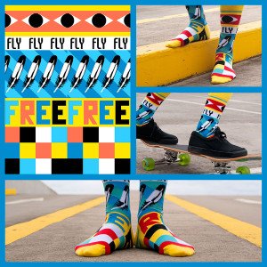 Soxy Beast - The Fly Free Socks Look