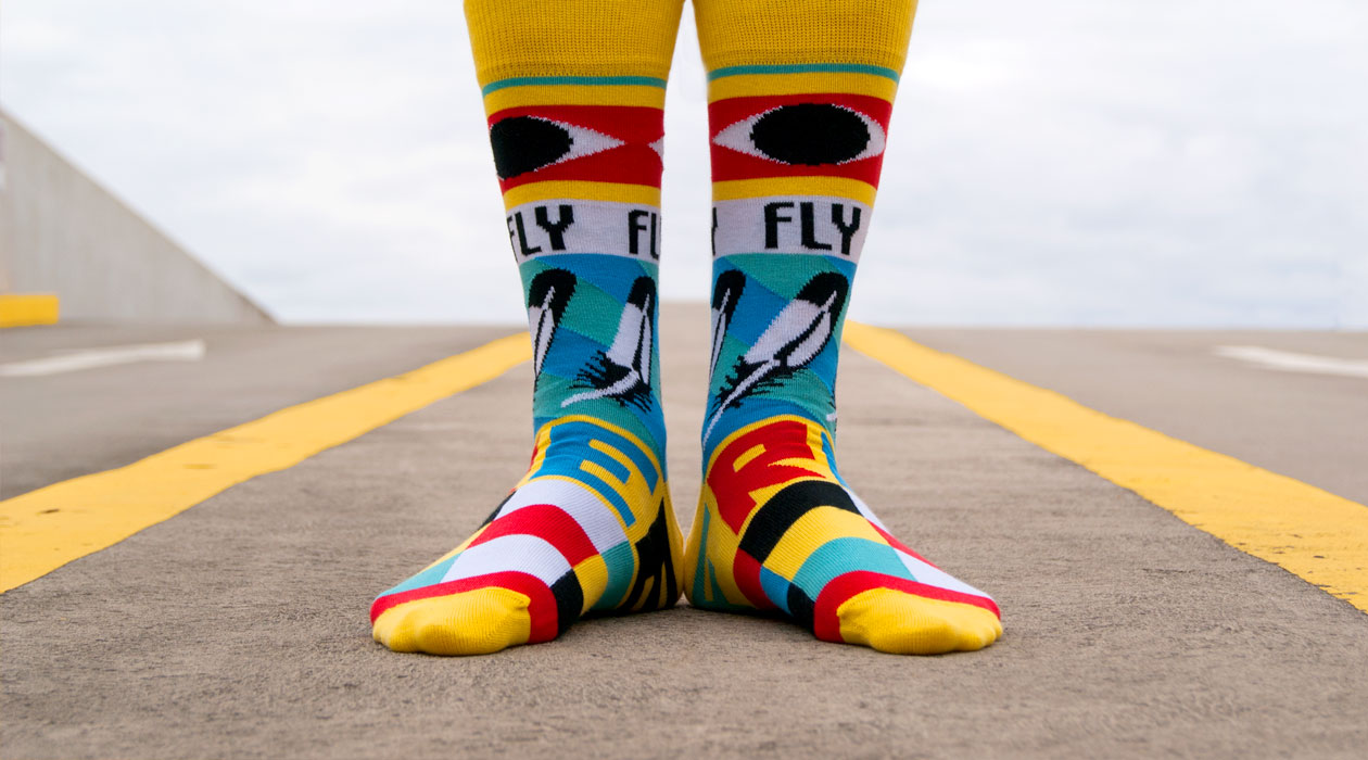 Soxy Beast - The FlyFree Style Socks