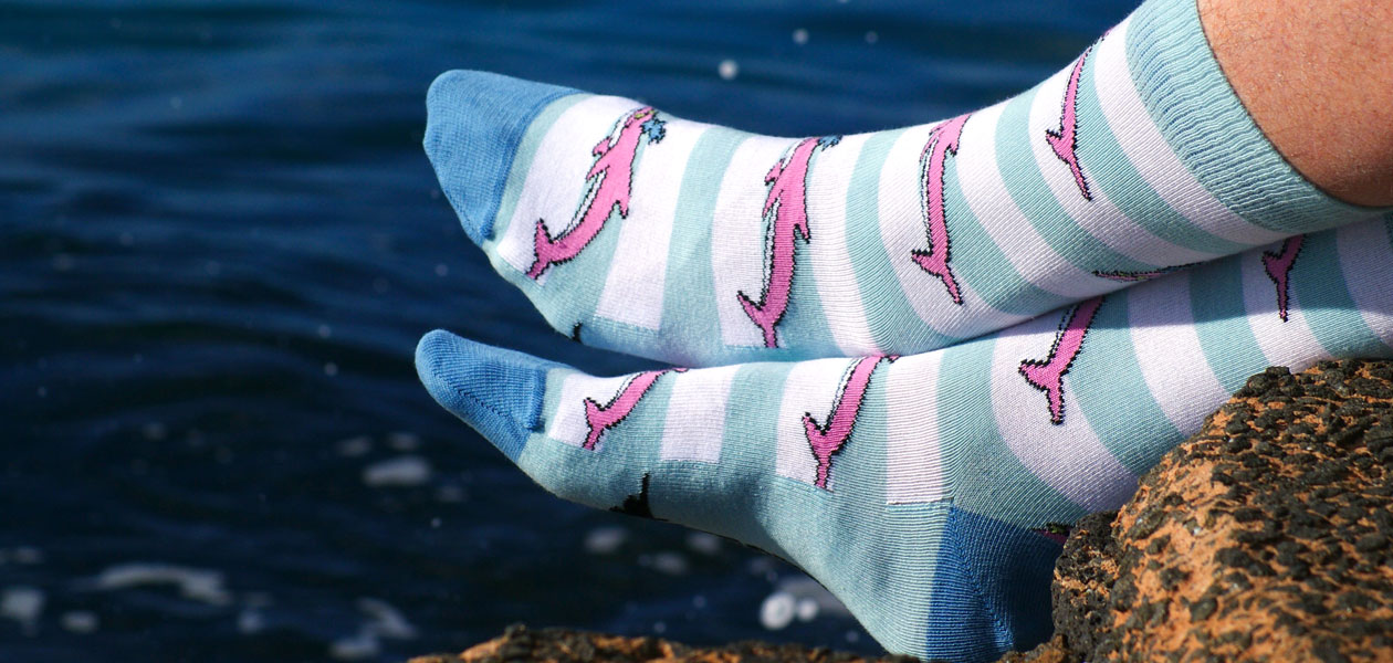 Soxy Beast - The Dolphin Pete Style Socks
