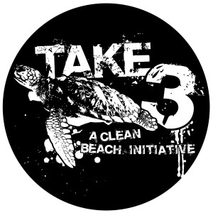 Take 3 for the Sea logo