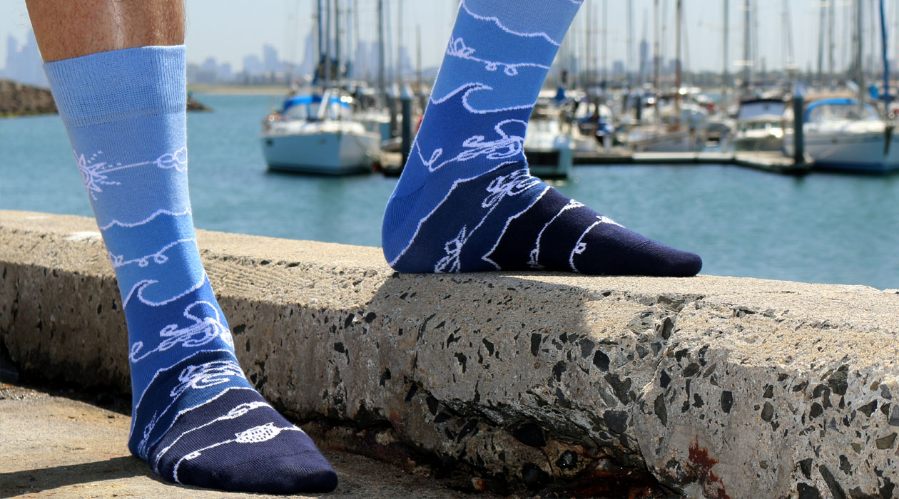 Soxy Beast - The Connection Style Socks