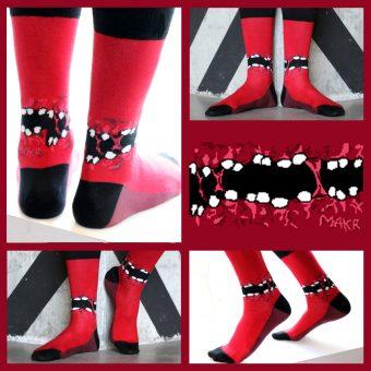 Soxy Beast - The Gummy Style Sock Look