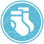 show off socks icon