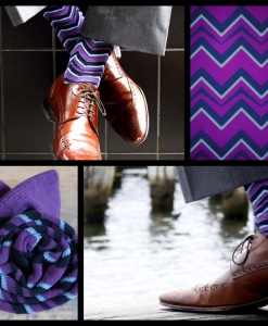 Soxy Beast Purple Chevron Look