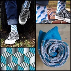 Mosaic of Soxy Beast's fancy socks