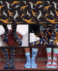 Soxy Beast - The Animalia Socks Look
