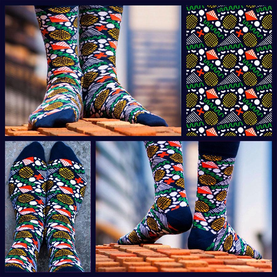 Soxy Beast – The Confetti Socks Look