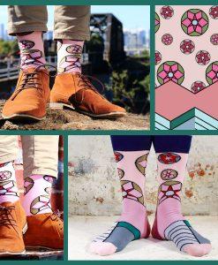 Soxy Beast - The Pinwheel Style Socks