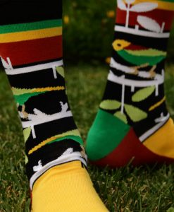 oxy Beast - The Bush Bird Style Socks